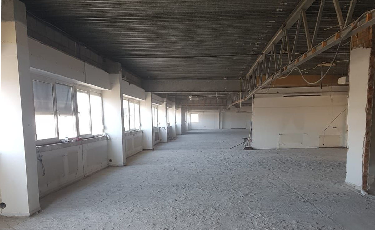 cementdekvloer Diemen verwijderen afvoeren